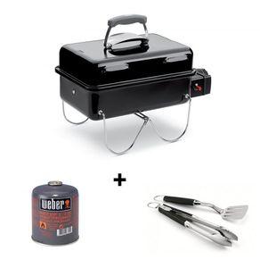 Weber plinski roštilj i set za roštilj