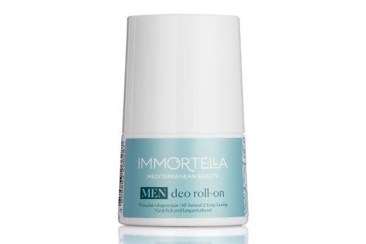 Dezodoransi nove kolekcije Immortella. Deo Roll on proizvod iz nove kolekcije prorodnih dezodoransa u bočici od 50ml. Bez aluminij klorohidrata i alkofola, za sve tipove kože
